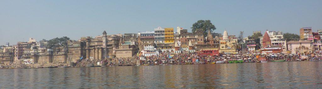 Panorama von Banaras